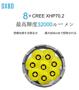 DX80懐中電灯