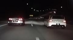 ランエボ vs ランエボ 高速バトル動画