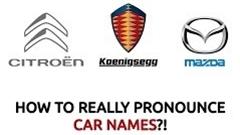 世界の自動車メーカーのネイティブな発音を覚えよう