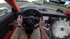 ポルシェ 991 GT2 RS 0-342km/h 加速動画