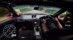 日産 S13シルビアが公道を爆走しちゃうマレーシアの走り屋動画