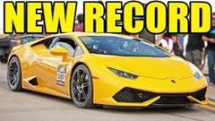はえー!ハーフマイル417.8km/hを記録した世界一速いランボルギーニ ウラカン