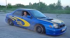 スバル インプレッサ WRX STI で誰でも4輪ドリフトできる方法