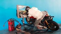6分の1スケールRCバイクシミュレーター風バイクゲームコントローラー