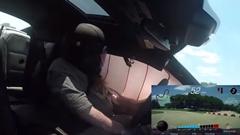 シボレー カマロ ZL1 でサーキット走ってたら突然エアバッグがボン!