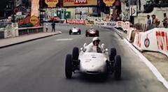 1962年 F1モナコGPの高画質映像がスゴすぎるフライングクリッパーのワンシーン