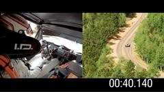 フォルクスワーゲン I.D. R パイクスピーク2018 7分57秒148 フルアングル動画