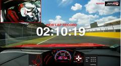 ホンダ シビック タイプR ハンガロリング FF最速 2分10秒19 フルオンボード動画