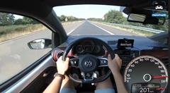 フォルクスワーゲン up! GTI アウトバーン最高速度実測動画