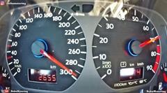 はえー!1200馬力オーバーAWD DSG ゴルフ2の激速メーター動画