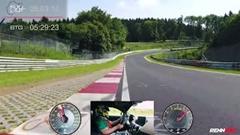 レンテック 760馬力AMG GT R ニュル7分4秒15 フルオンボード動画