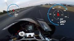 はえー!トップフューエルバイクの激速オンボード動画