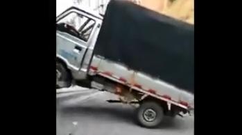 壊れたトラック うっかり盛ってしまう