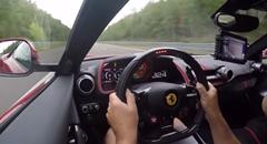 快音が気持ちいいフェラーリ 812 スーパーファスト 0-324km/h動画