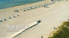 レッドブルのF1マシンが砂利道やビーチを爆走しちゃう動画