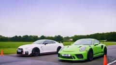 日産 GT-R NISMO vs ポルシェ 991 GT3 RS 加速対決動画