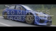 カッケー!スバル WRX STI Type RA ルーマニアの峠タイムアタック動画