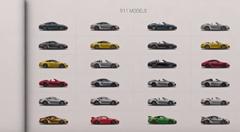 全ポルシェ 911 シリーズのそれぞれの違いがわかる動画