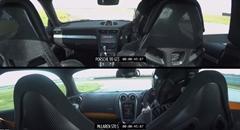 ポルシェ 991 GT3 vs マクラーレン 570S サーキット比較動画