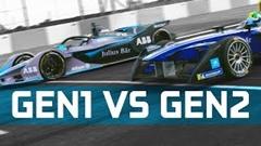 フォーミュラE Gen1 vs Gen2 加速対決動画