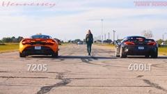 マクラーレン 720S vs 600LT ドラッグレース動画