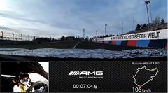 メルセデス AMG GT R PRO ニュル7分4秒632 フルオンボード動画
