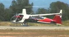 飛行機 vs ヘリコプター ドラッグレース対決動画