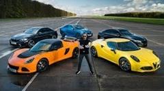 BMW M2 コンペティション vs アルファロメオ 4C vs ロータス エキシージ スポーツ 350 加速対決動画