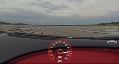 はえー!ブガッティ シロン 最高速度 420km/h (リミッター) 実測動画