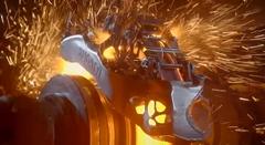 ブガッティの世界初3Dプリンティングブレーキキャリパーテスト動画