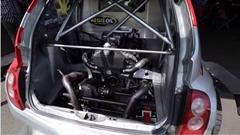 日産 マーチを650馬力ミッドシップ4WDにしちゃったスゴ動画