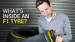 F1マシンが履くタイヤの構造を見てみよう