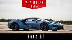 フォード GT の最高速度を実測してみた動画
