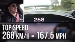 ポルシェ タイカン ターボS アウトバーン最高速度実測動画