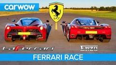 フェラーリ エンツォ vs ラ・フェラーリ 加速対決動画