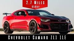 シボレー カマロ ZL1 1LE 最高速度実測動画