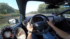 フォード フィエスタ ST 最高速度アウトバーン実測動画