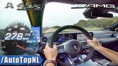 メルセデス AMG A45 S 4MATIC+ アウトバーン最高速度動画
