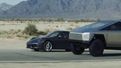 テスラのサイバートラックはポルシェ 911より速いよ