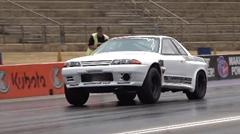 RB30を積んだスカイライン R32 GT-R ゼロヨン6秒57 世界最速動画