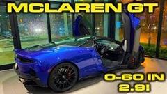 マクラーレン GT の加速性能をテストするよ