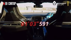 はえー!ルノー メガーヌ R.S. トロフィーR 筑波1分3秒591フルオンボード動画