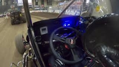 小さなオーバルコースをひたすらグルグル回るミジェットカーレース オンボード動画