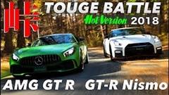 メルセデス AMG GT R vs 日産 GT-R NISMO 峠バトル動画