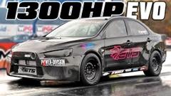 はえー!世界一速いエボX ゼロヨン7秒934を記録!