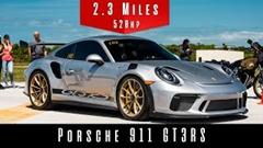 ポルシェ 991 GT3 RS の最高速度実測動画
