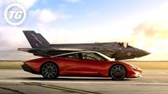 マクラーレン スピードテール vs F35 三角サーキット対決動画