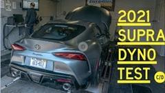 トヨタ GR スープラ 2021年モデルのシャシダイ動画