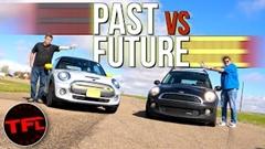 ミニ クーパーS vs ミニ クーパーSE 加速&サーキット対決動画