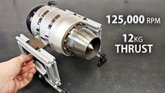 RC用ジェットエンジンの推力を測ってみた